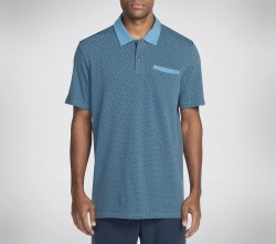Mens Pitch Jacquard Polo